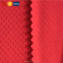 Unique knitted hexagonal pet mesh fabric for sportswear