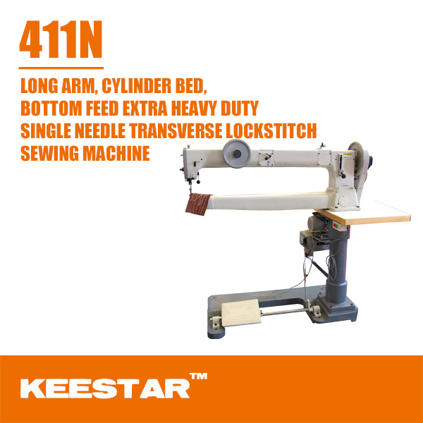 Keestar 411N sewing large tubular products automatic edge banding machine