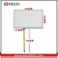 7.0 7.1 inch Compatible 4 wire resistive 164*103 164mm*103mm Long Flex Cable touch glass digitizer Screen