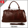 Fashion Men Genuine Leather Travel Bag Duffle Bag for travelling