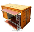 20HC Shipping Container Side Open Container in China