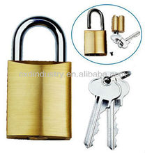 530 padlock replaceable brass cylinder C4 keyway