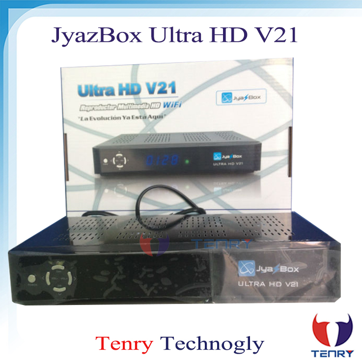 Full hd 1080p Jyazbox ultra hd v21 satellite receiver with jb200 and wifi Jyazbox v21