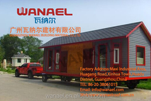 Wanael Free Sample Decorative House Exterior Vinyl Wall Siding, Fireproof Wall Board