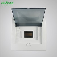 ABS UV VO flush mounted MCB box, 12 way distribution box made in China