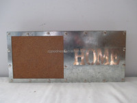 CORK/METAL/MDF MEMO BOARD/W/LETD LIGHT/HOME MESSAGE PLAQUE