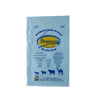 Fertilizer animal feed bag