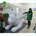 Hongyi Cartoon Type White Flying Inflatable Wolf , Inflatable Husky Wolf Toys