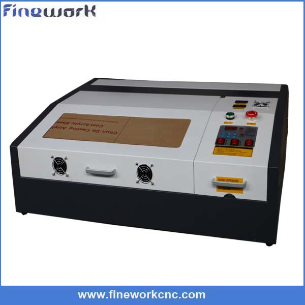Hobby 40w mini rubber stamp laser engraving machine