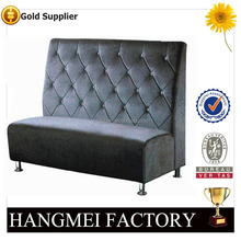 Elegant fabric hotel/restaurant sofa/booth HM-KZ32