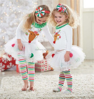 On sale!! christmas clothing latest design in kids wear