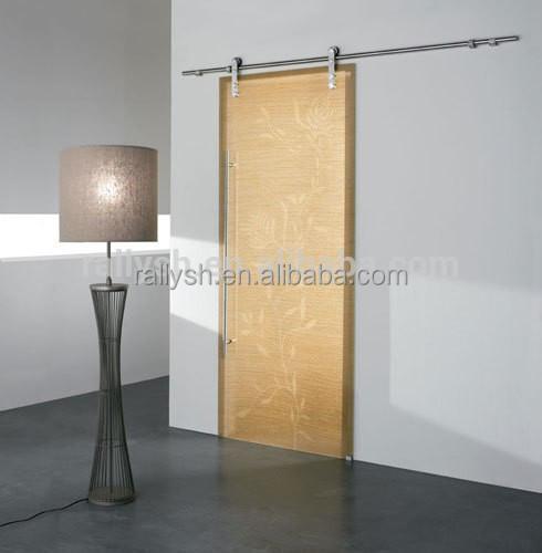 Hot sale american style sliding wood barn door for Sliding glass doors 6ft