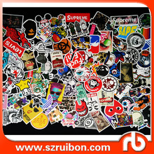 Die Cut Sticker-Car Motorcycle Bicycle Skateboard Laptop Luggage Vinyl Sticker Laptop Luggage Decals Bumper Stickers, 100 Pieces