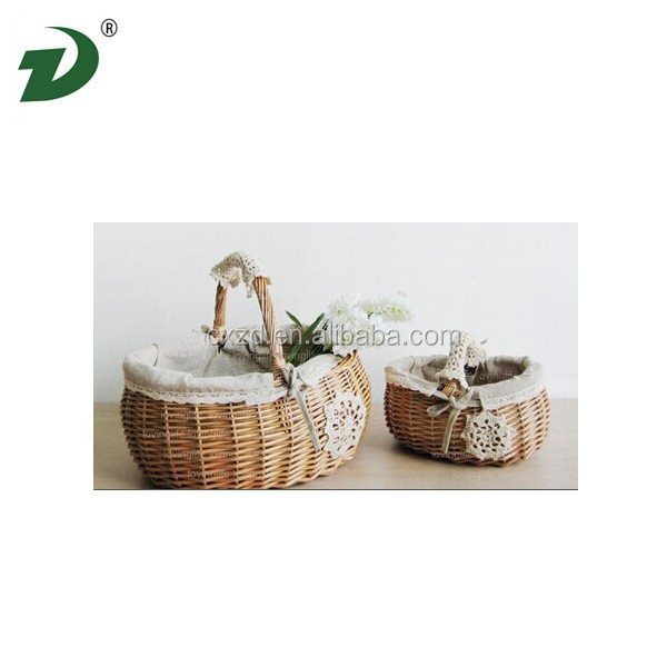 Wicker basket with rattan basket indonesia willow basket