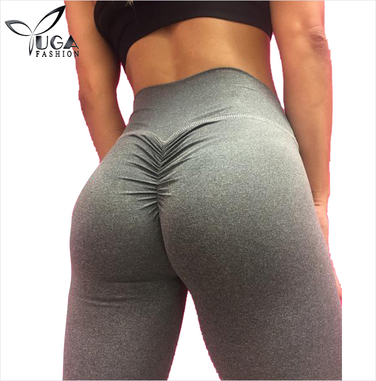 Popular Design 2017 Women Workout Wear Brazilian Flattering Scrunch Butt Leggings
