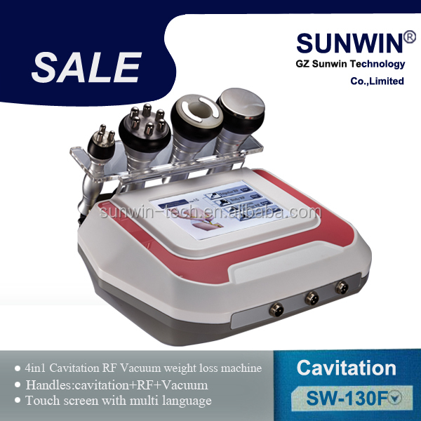 Professional Multi-function Cavitation+RF deeper cellulite removal, fat removal ultracavitacion machine
