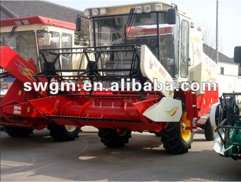 4YZ-3 Self-propelled Wheat Corn Combine Harvester