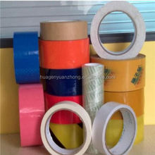 Decorative factory acrylic bopp color packing tape