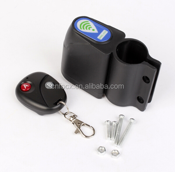 High quality bicycle remote control / Bike Alarm Lock Security / bicycle Wireless Anti-Loss Alarm