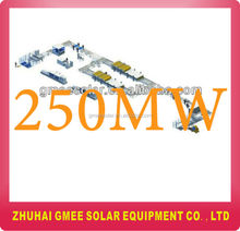 250MW full automatic line for manufacuring solar panel