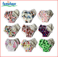 2014 Famicheer Bamboo SNAP-ON Training Pants,Potty Training Kit