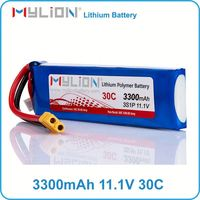 hot sale 11.1v 3300mah lipo battery lithium ion battery for mp3