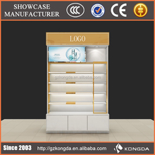 KONGDA Customized Luxury Makeup Display Stand Cabinet For Sales