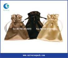 ribbon satin silk gift bag jewelry bag