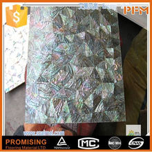 hot sale natural well polished paua shell paper mosaic tile