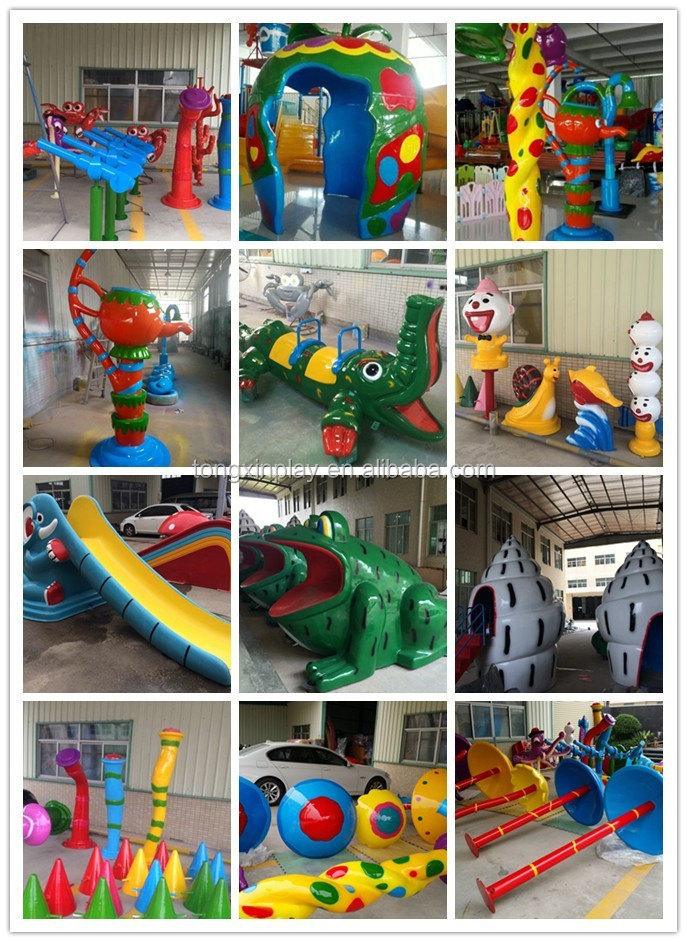Newly design used swimming pool large plastic water slide for sale