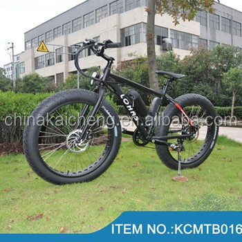 500W yellow alloy rim fat tyre HUMMER Electric mountain Bicycle for sale