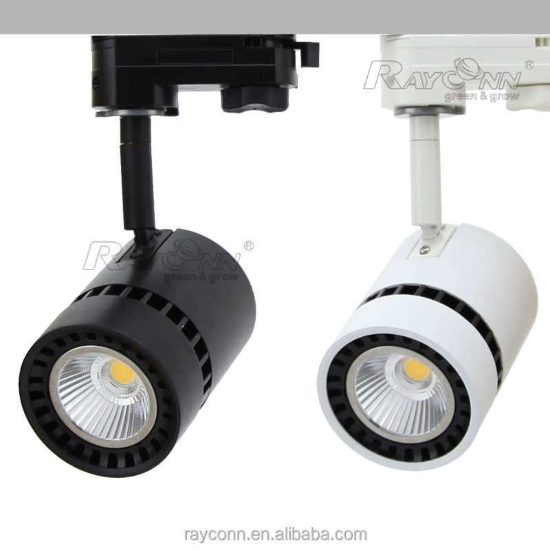 Commercial Spot Light LED Ceiling Track, 12w LED Ceiling Track Lights