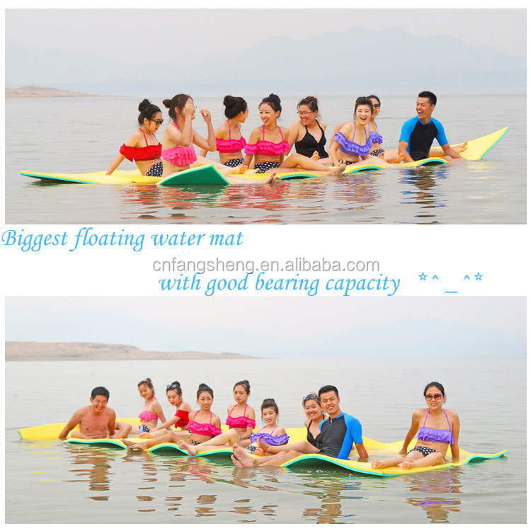 Boat perfect accessory XPE foam water mat Floating water mat water toys