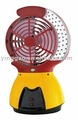 Emergency fan light