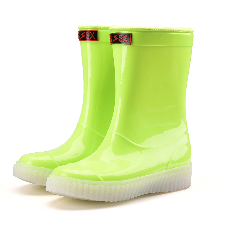 China factory led womens rain boots 2017winter shoe