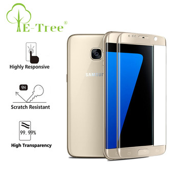 3d full bady screen protector for samsung s7 edge tempered glass