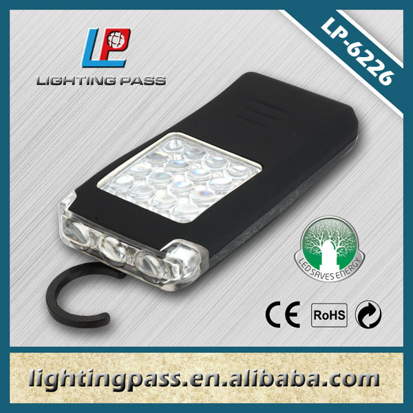 16+4 LED working flashlight