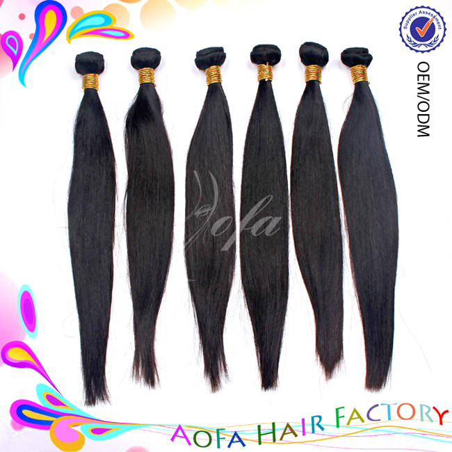 Hot sale brazilian hair bundles can be dyed 24 inch silky straight brazilian hair weave unprocessed raw brazilian virgin human h