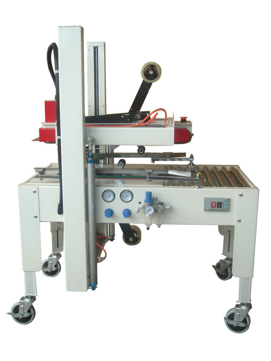 Automatic Top And Bottom box sealing machine