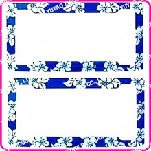 Girly license plate frames