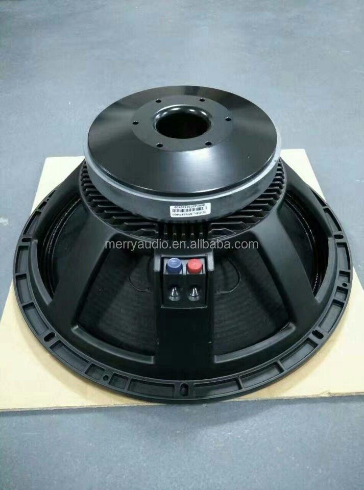 Dual spider 4'' coil 18 inch suwboofer speaker rcf top made speaker manufacturer in guangzhou