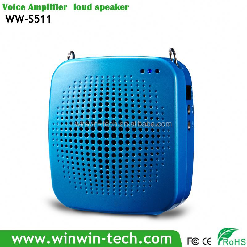 7.4V portable high power Voice Amplifier digital echo av karaoke amplifier