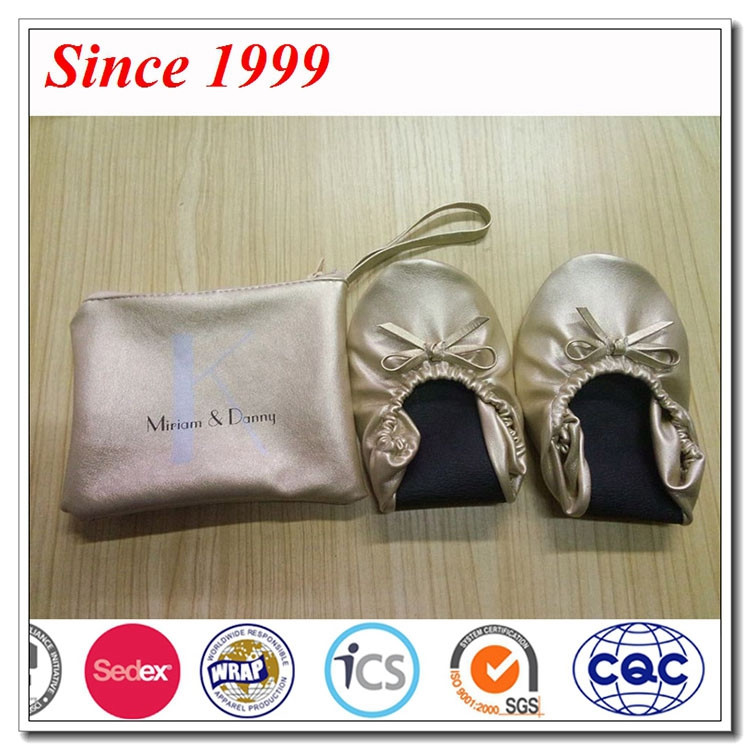 Bellerina Shoe After Party Wedding Gifts Shoes For Guest,Foldable Ballerina Shoes For Wedding
