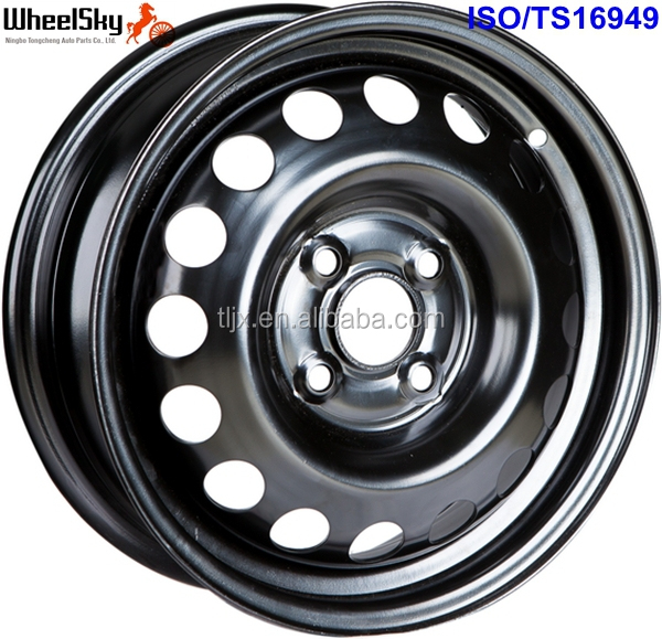 "14"" 4x100 Steel Wheel Rims for Passenger Cars"