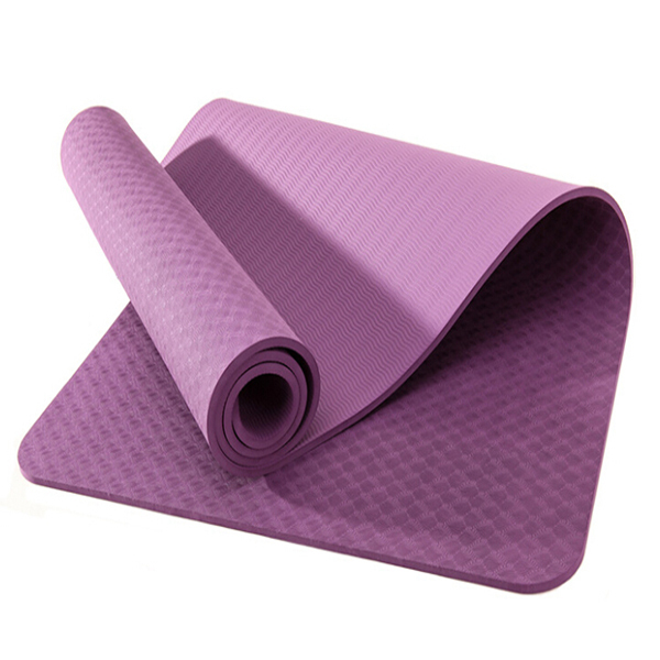 TPE PVC NBR EVA natural rubber OEM private label Non toxic eco-friendly yoga mat