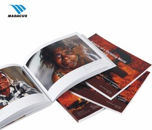 wholesale printing perfect binding full-color travel brochures & Adventure book