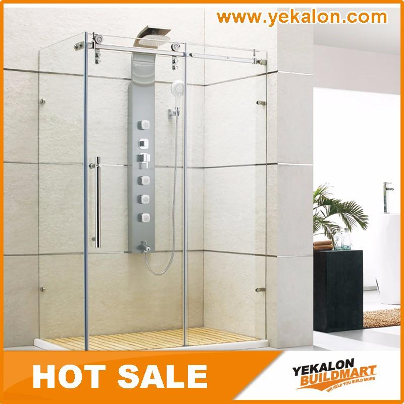 3 Sided Frameless Shower Enclosure, 3 Sided Frameless Shower ...