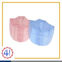 detachable faux fake lapel shirt collar neck designs for ladies suit for women