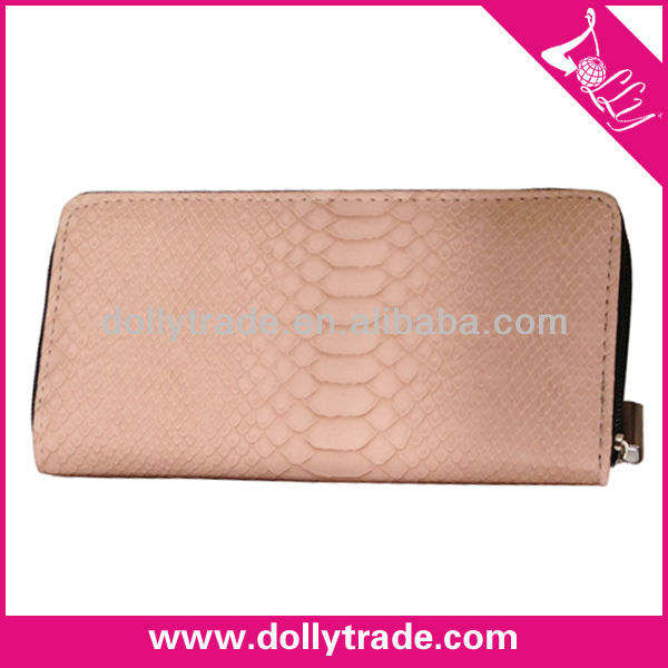Factory Sale Ladies Purse Leather Ladies Hand Purse / Zip Around Women Wallet / Fancy Leather PU Pures Lady