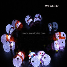 Battery operated new design snowman led christmas light